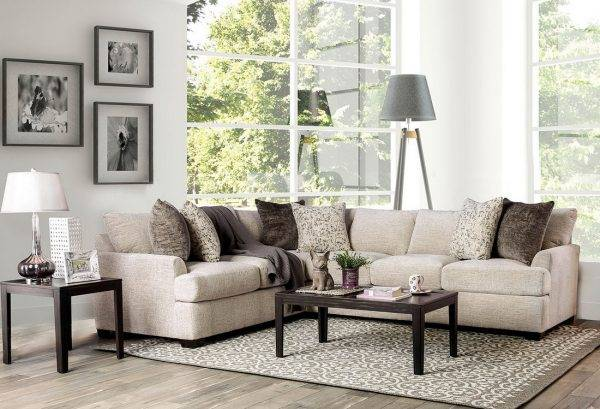 Alisa fabric sectional