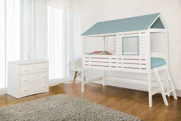omestad CM7135 Blue twin bed