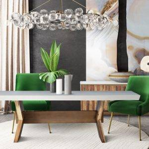 Astoria White Dining table
