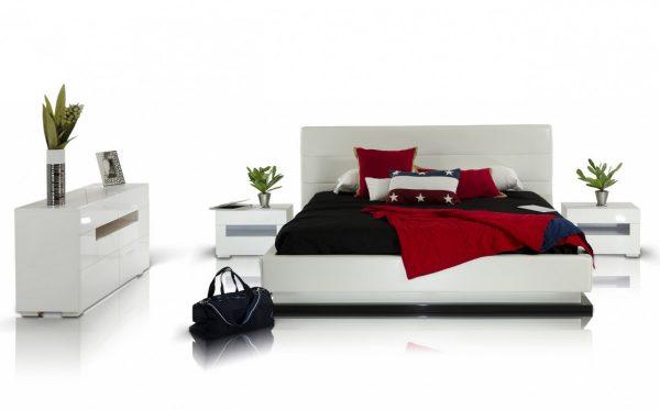 Infinity Platform Bed With Lights Las Vegas Furniture
