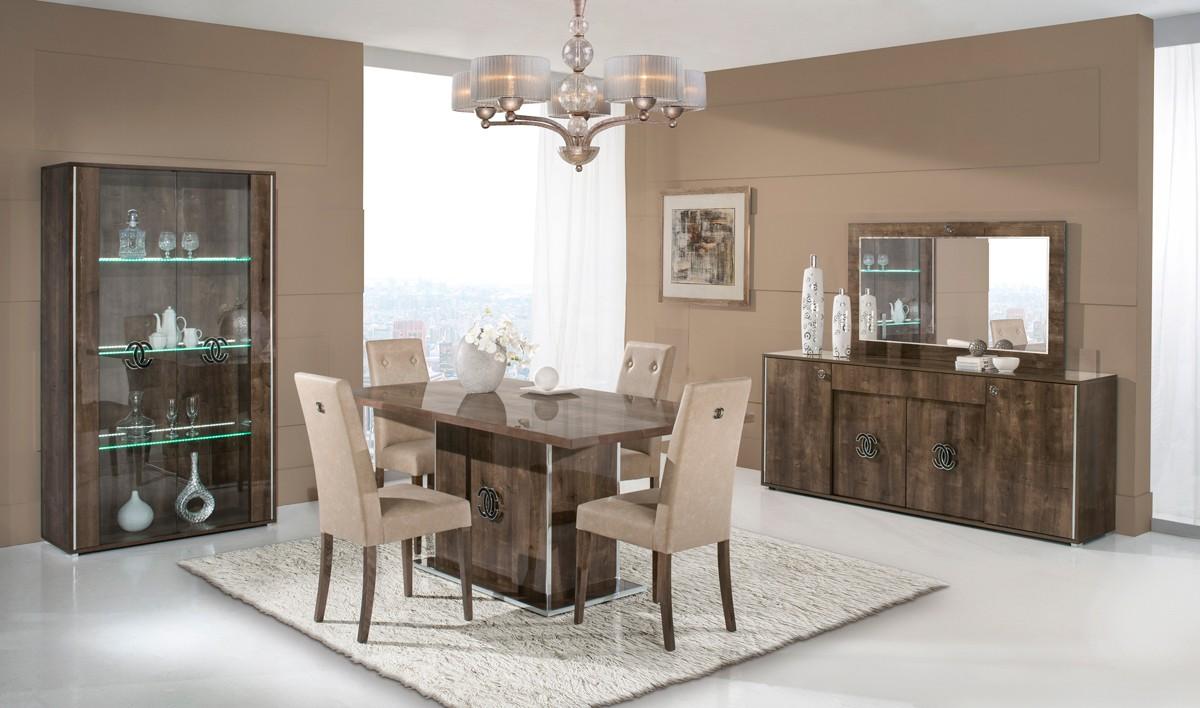 Athen Italian Modern Dining Set Las Vegas Furniture