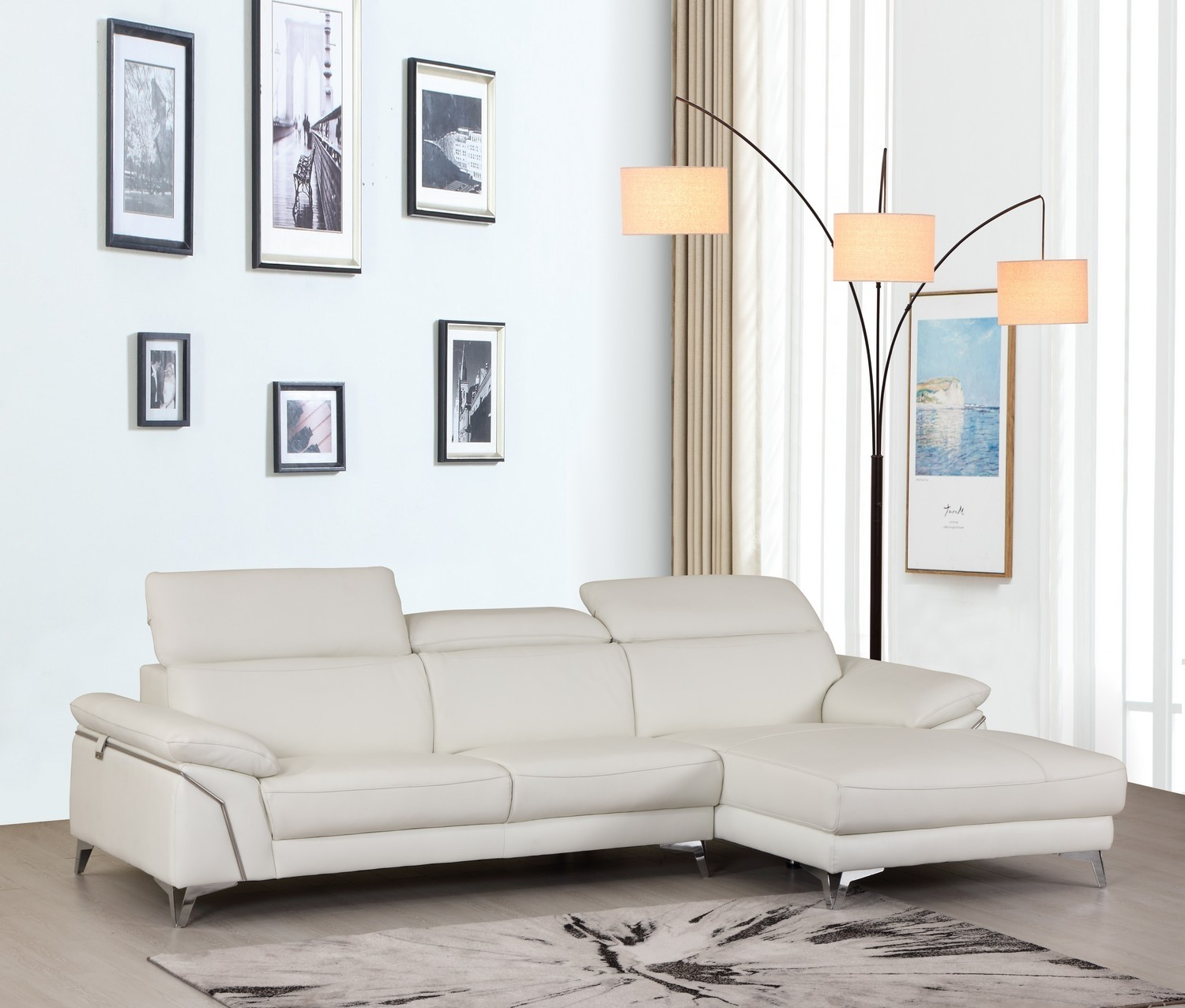 GLO 727 WHITE RFC SECTIONAL 1