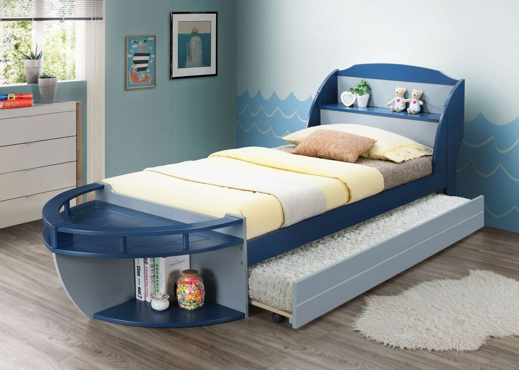 AC 30620T+30623 TWIN BOAT BED