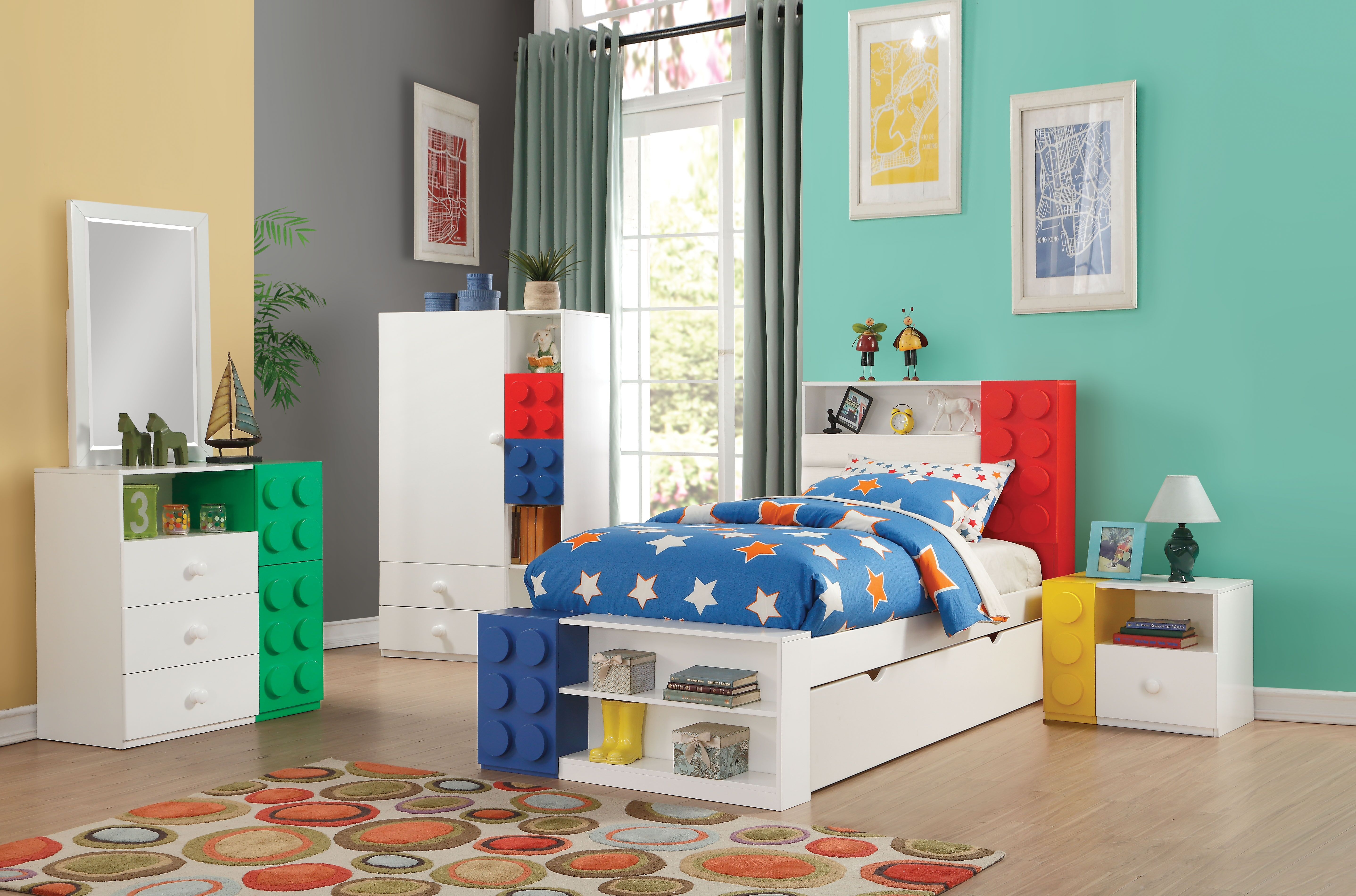 AC 30740T LEGO TWIN BED