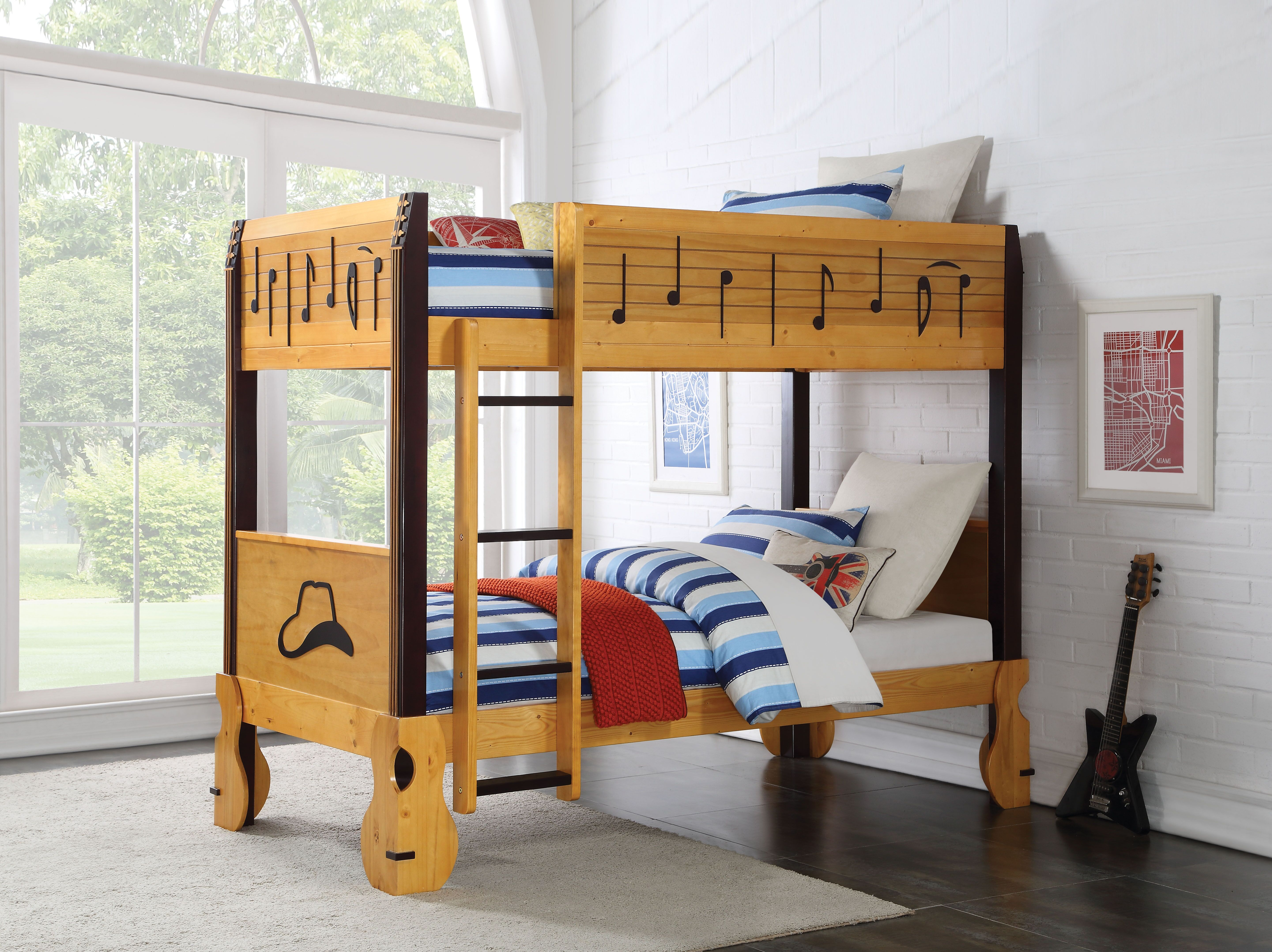 AC 37710 MUSIC NOTE BUNK BED