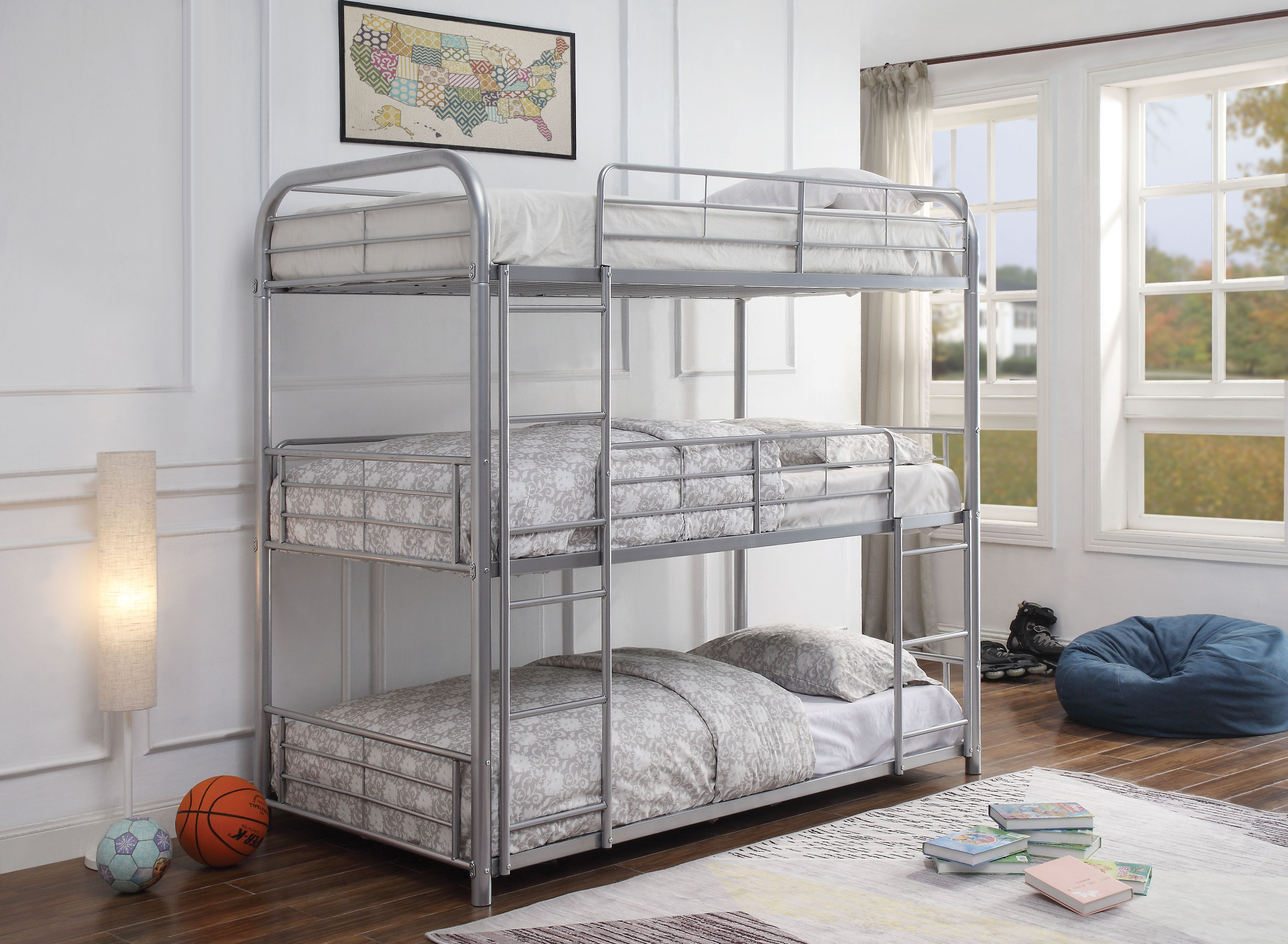 AC 38100 CAIRO SILVER BUNKBED