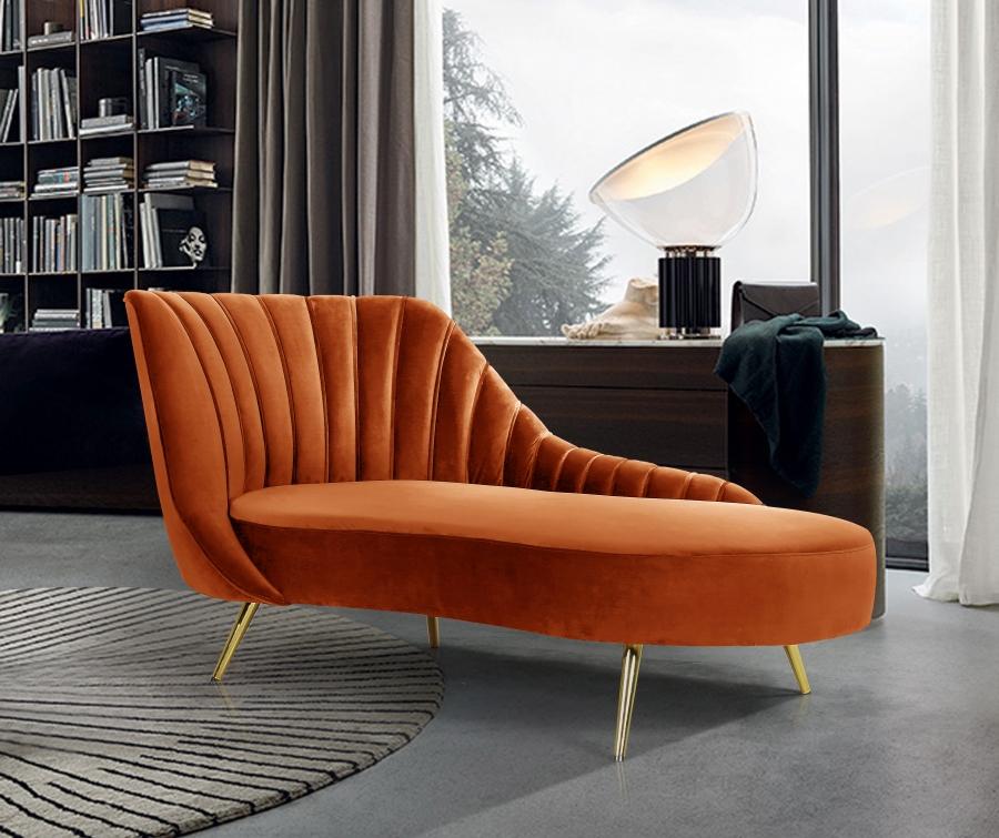 Margo Velvet Chaise Lounge Las Vegas Furniture Store