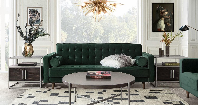 juniper-hunter-green-velvet-sofa-chair
