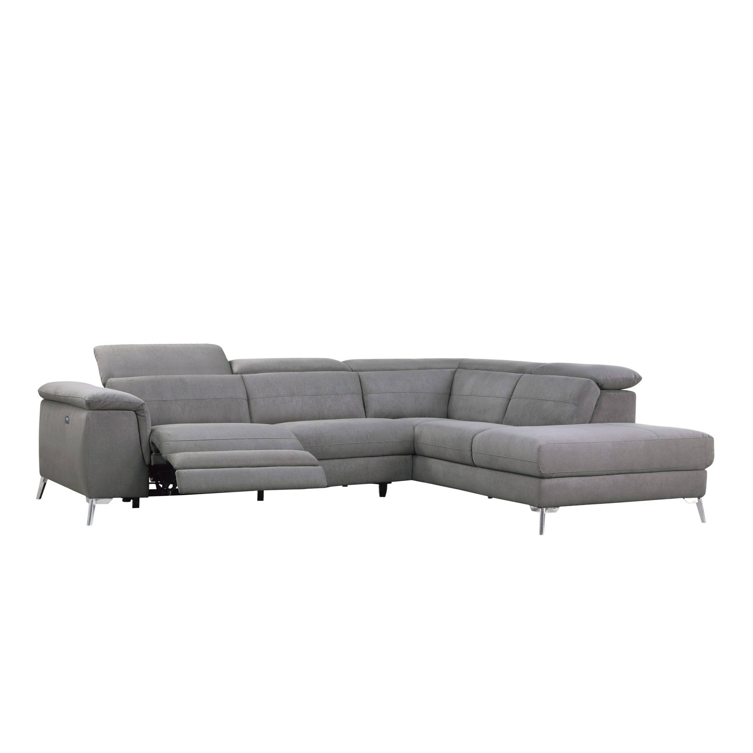8256FBR cinque fabric recliner sectional