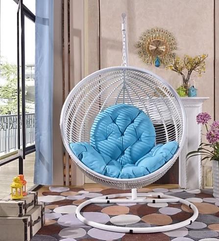 Montego White Large Hanging Basket Las Vegas Furniture