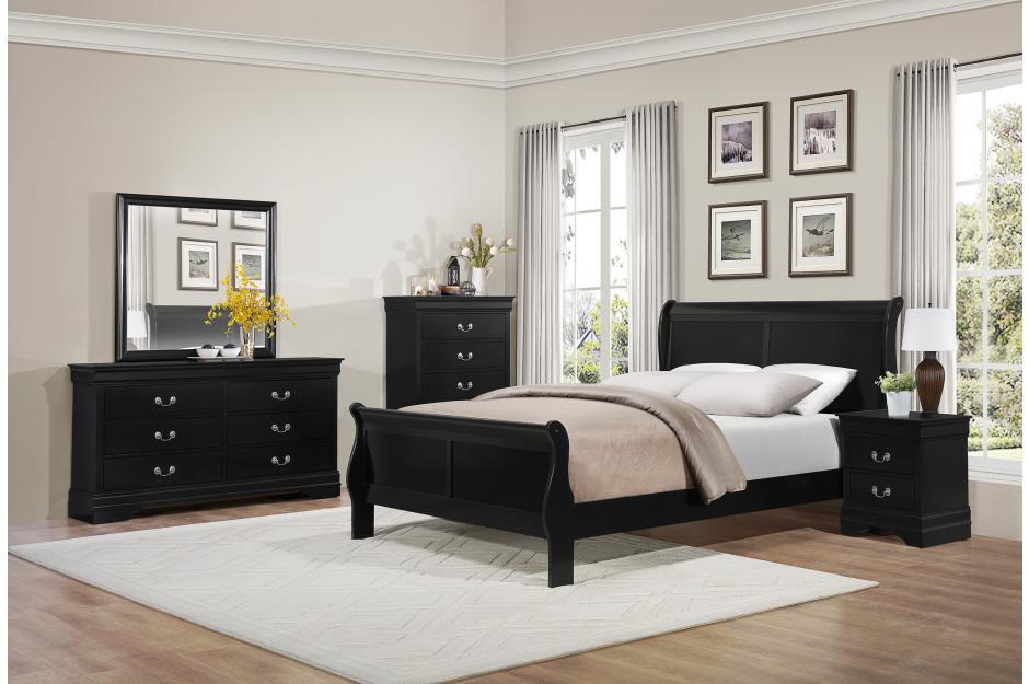 2147 BLACK BED SET