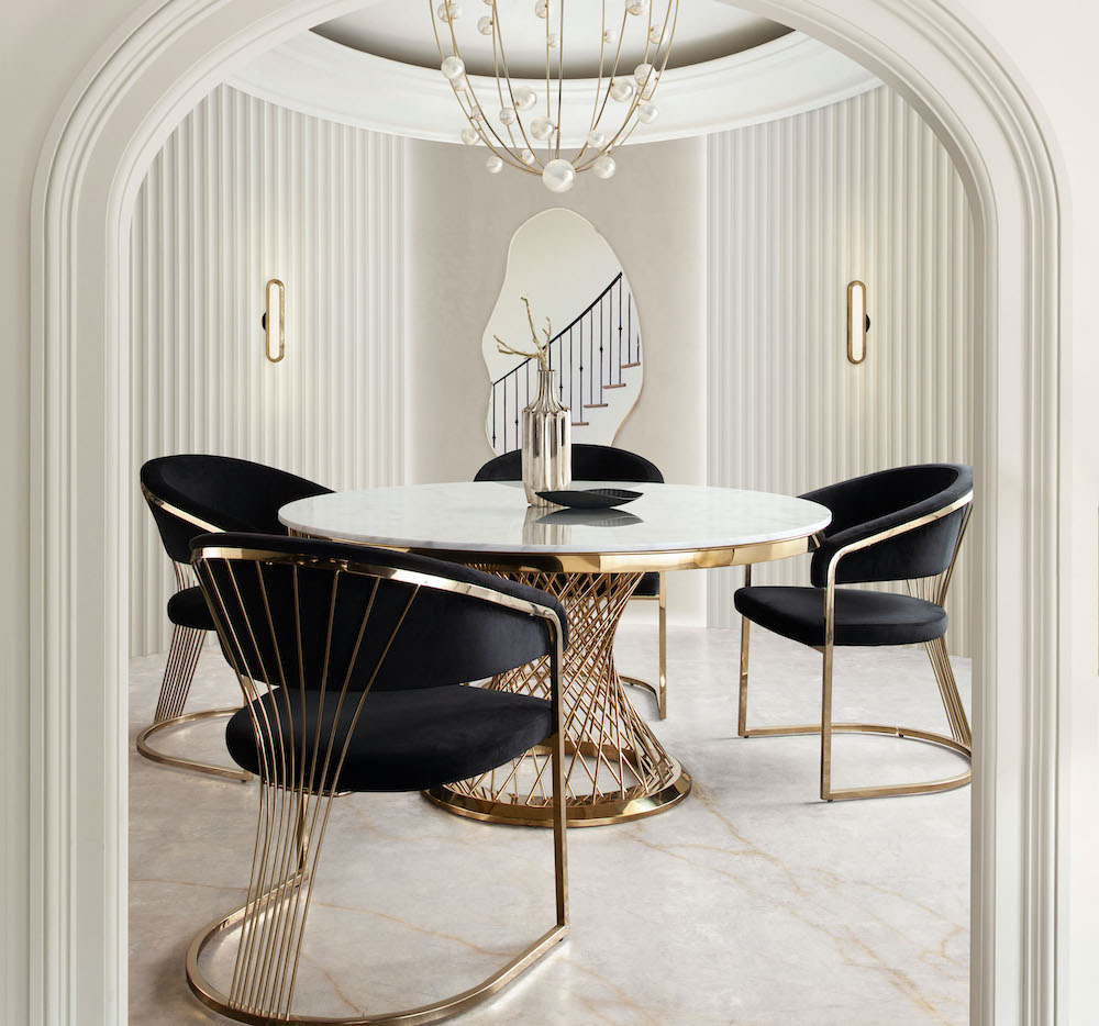 solstice-marble-gold-round-dining-table-velvet-chair