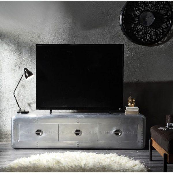 Brancaster Aluminium TV stand